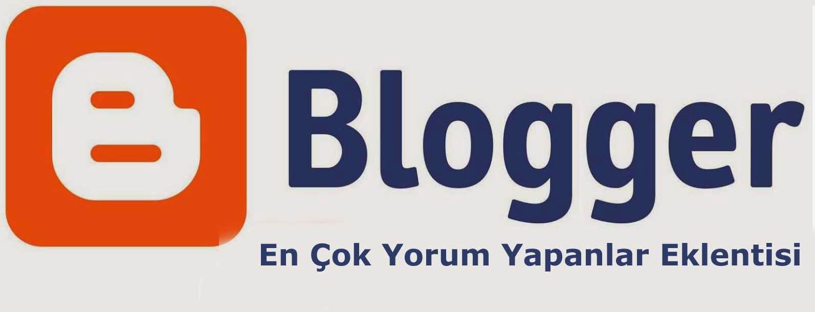 Blogger En çok Yorum Yapanlar Eklentisi