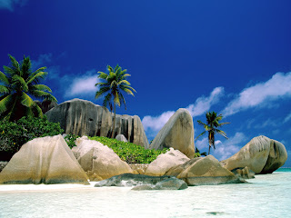 La Digue Island in Seychelles