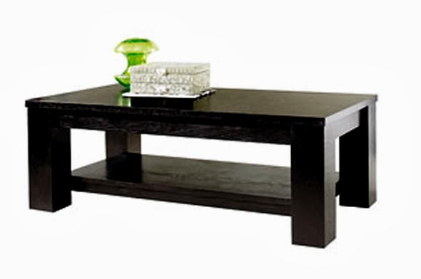 modern black coffee table sets