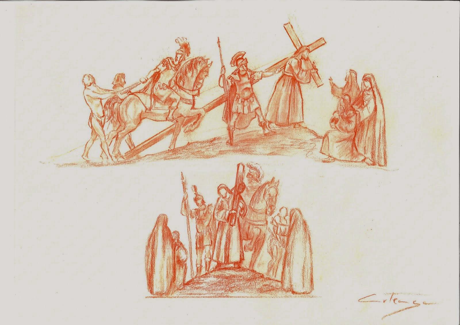 Boceto de Paso de MIsterio