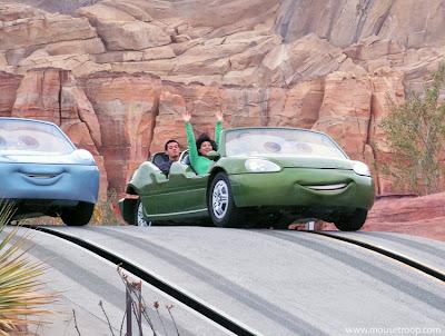 Radiator Springs Racers Cars Land Carsland DCA Disney