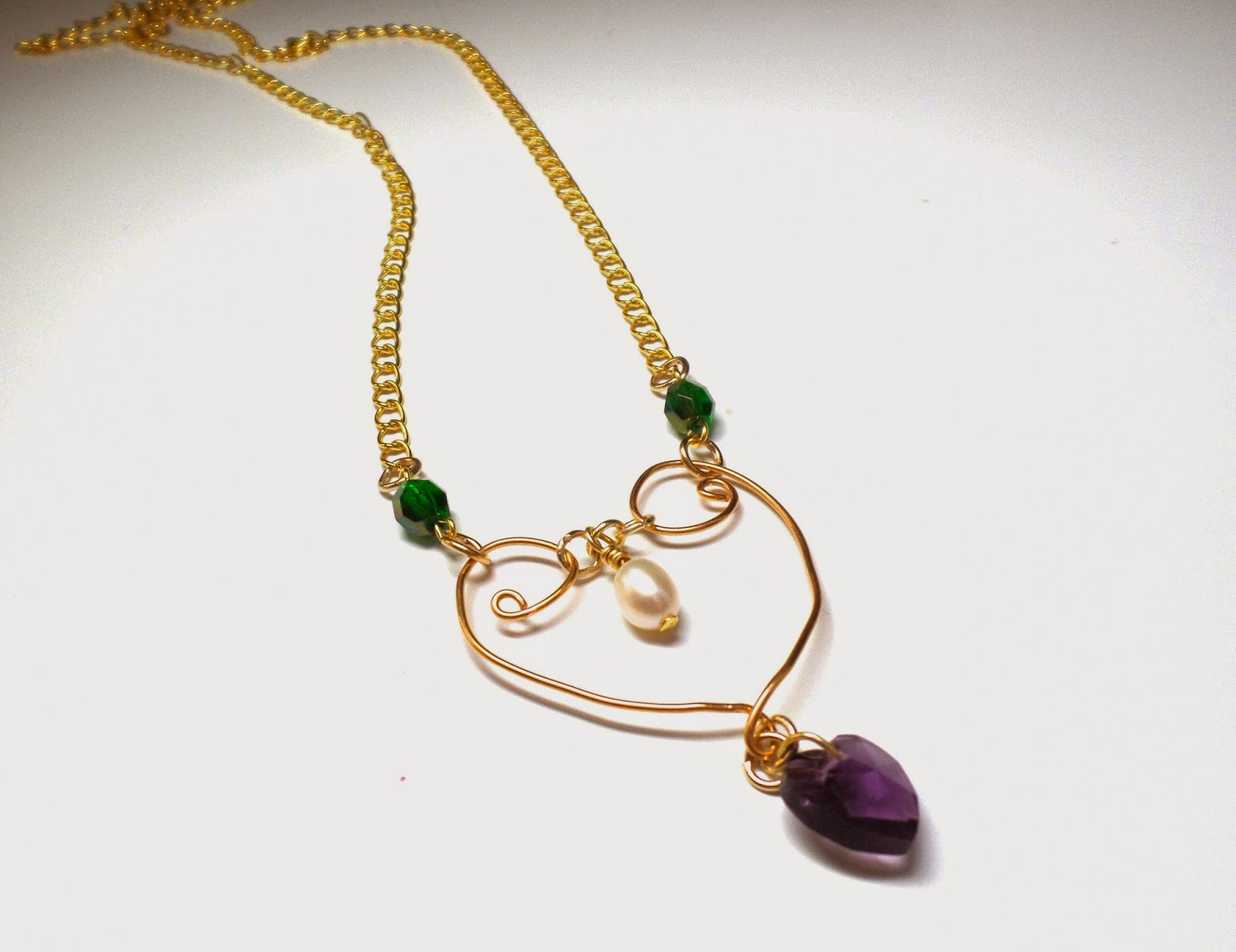 How to make a Suffragette Necklace
