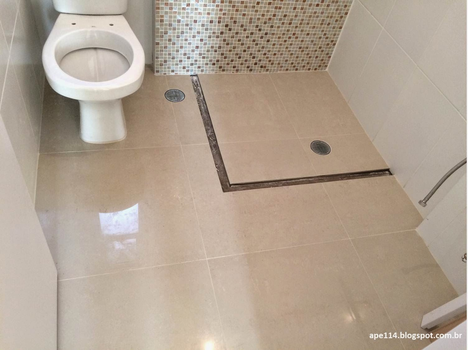 Apê 114: Novembro 2014 #5F4D3E 1504x1125 Azulejo Fosco Banheiro