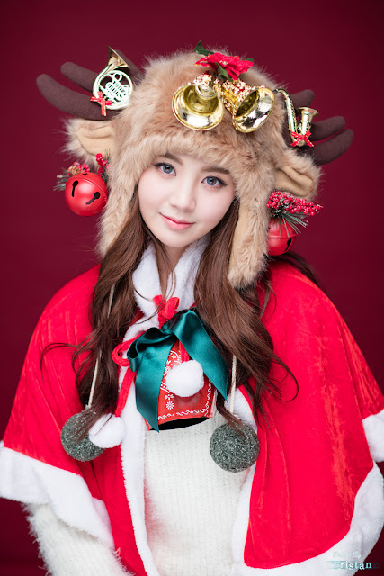 5 Lee Chae Eun - merry christmas - very cute asian girl-girlcute4u.blogspot.com