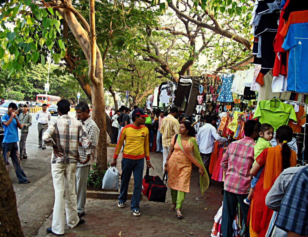Bombay Fashion Street Shopping
