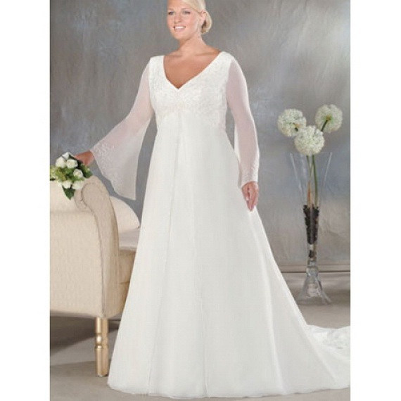 Casual Plus Size Wedding Dresses ...