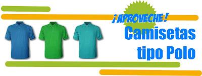 camisetas tipo polo,camisetas publicitarias,articulo promocional