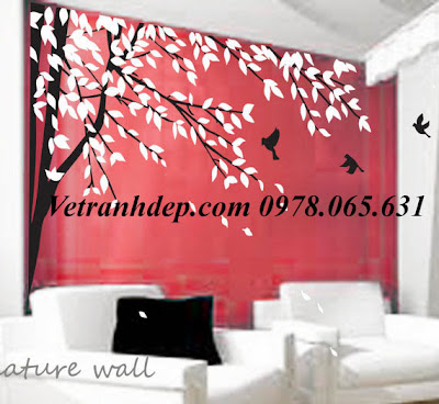 vẽ tranh tường,vẽ tranh tường phòng khách