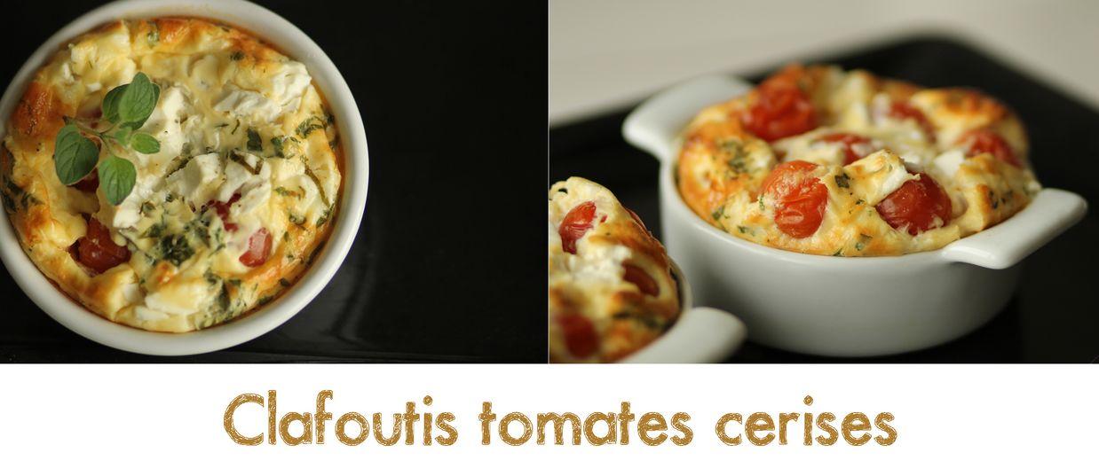 le journal culinaire d 39 une gourmande clafoutis tomates cerises. Black Bedroom Furniture Sets. Home Design Ideas