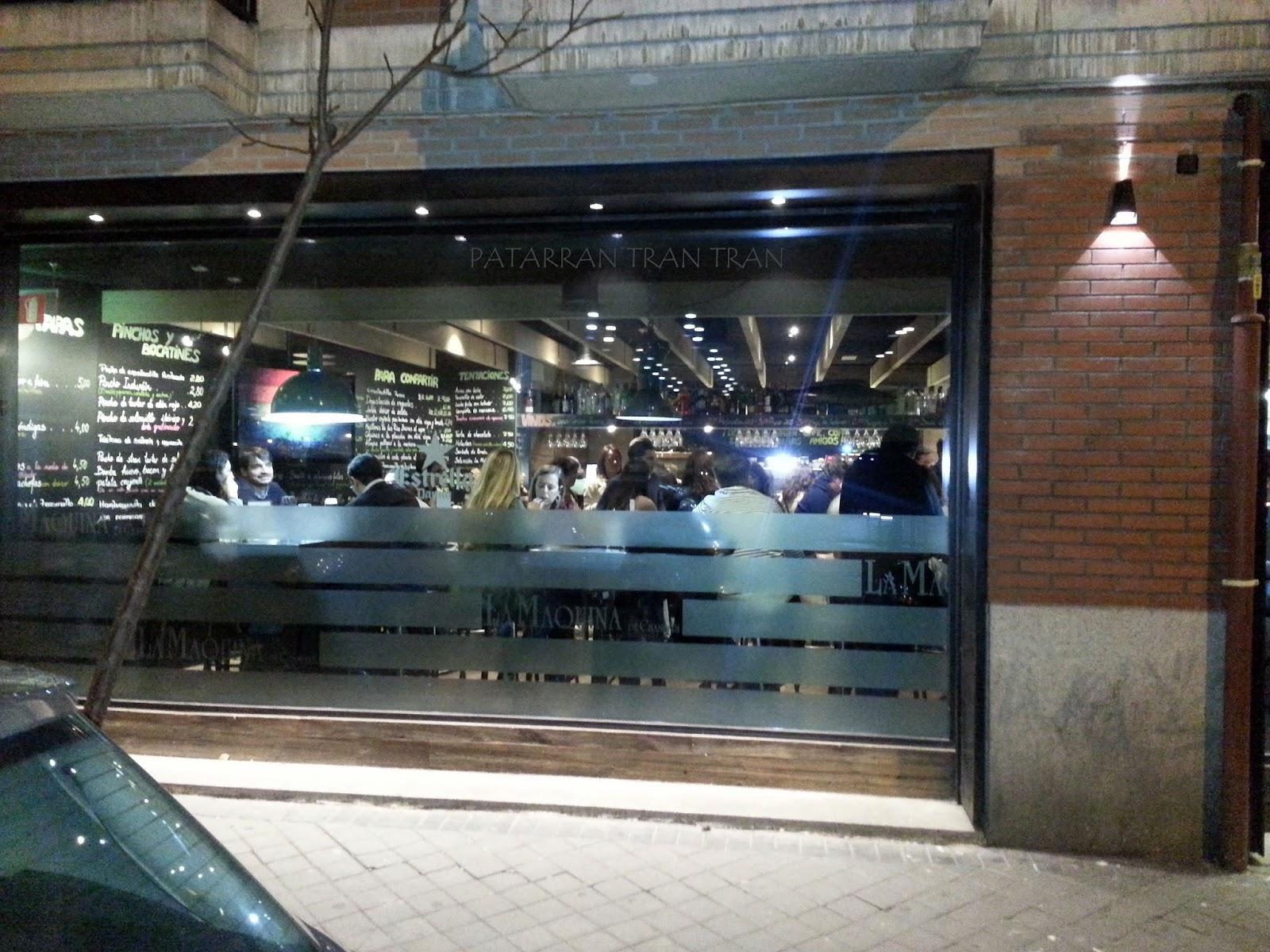 La Máquina de Chamberí. Inspeccion Tabernaria. Calle Ponzano y aledaños