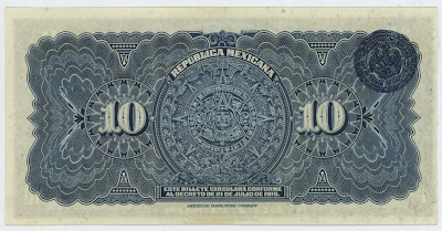 Old Money Notes Old Mexican Bank Notes