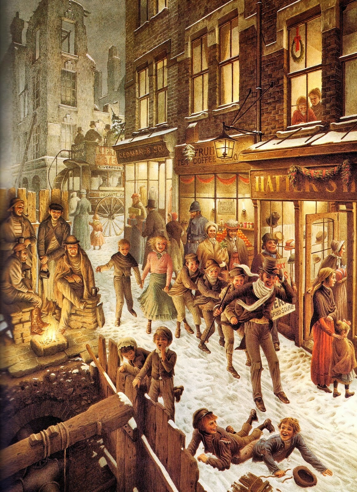 Las Maravillosas Ilustraciones De Roberto Innocenti