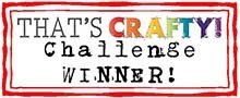 Winner at That's Crafty July 17