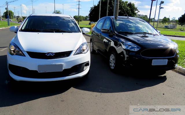 Chery Celer x Ford Ka