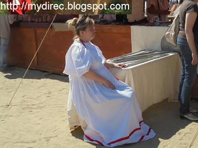 Древний Рим - продавцы сувениров