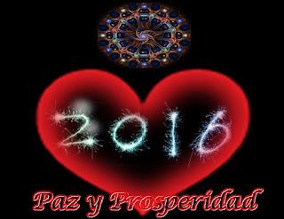 Vengo en este último día del año a traerles todo Mi Amor y a desearles que reciban al nuevo con un gran gozo en sus corazones para que comiencen esta nueva temporada con Paz y Prosperidad.