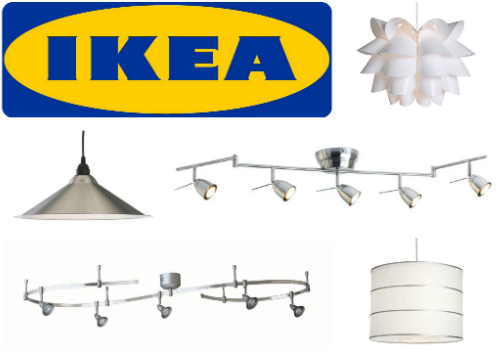 diy shopping for installing new lighting fixtures cable lighting ikea