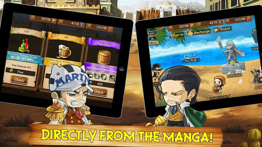 One PieceStrong World D Anime Game Android