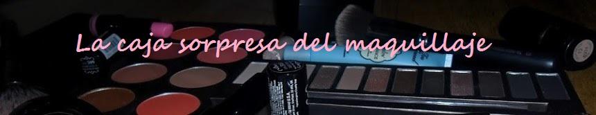 La caja sorpresa del maquillaje