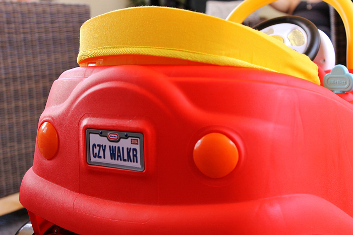 Little Tikes Cozy Coupe Activity Walker at Toys R' Us and online now.