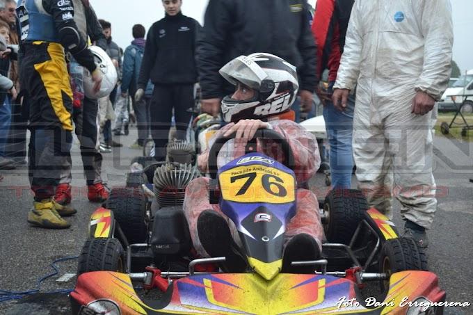 Serna excluído. Facundo Andrade es el ganador de la última del Prokart 125cc