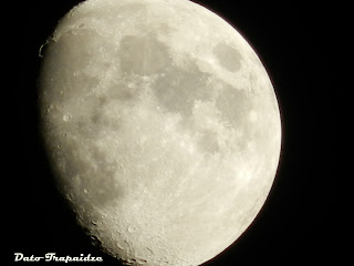 მთვარე და NIKON p500