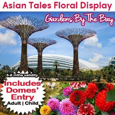 garden by the bay admission ticket