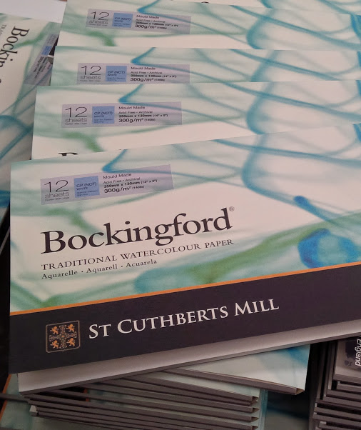 Bockingford Panoramic Pads