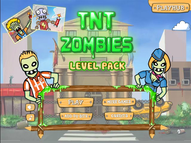 Play TNT Zombies Level Pack
