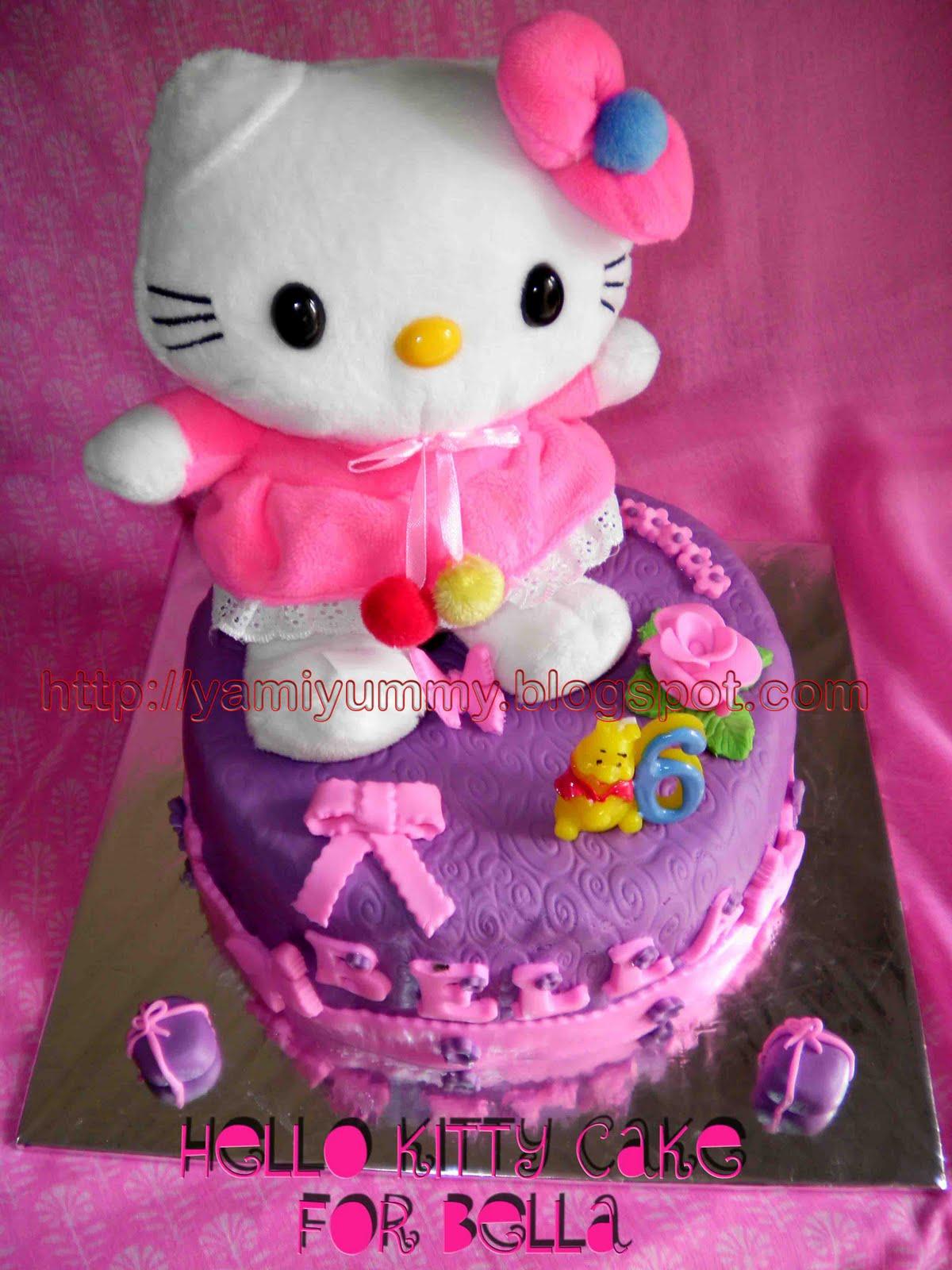 Gambar Kue Hello Kitty Pink