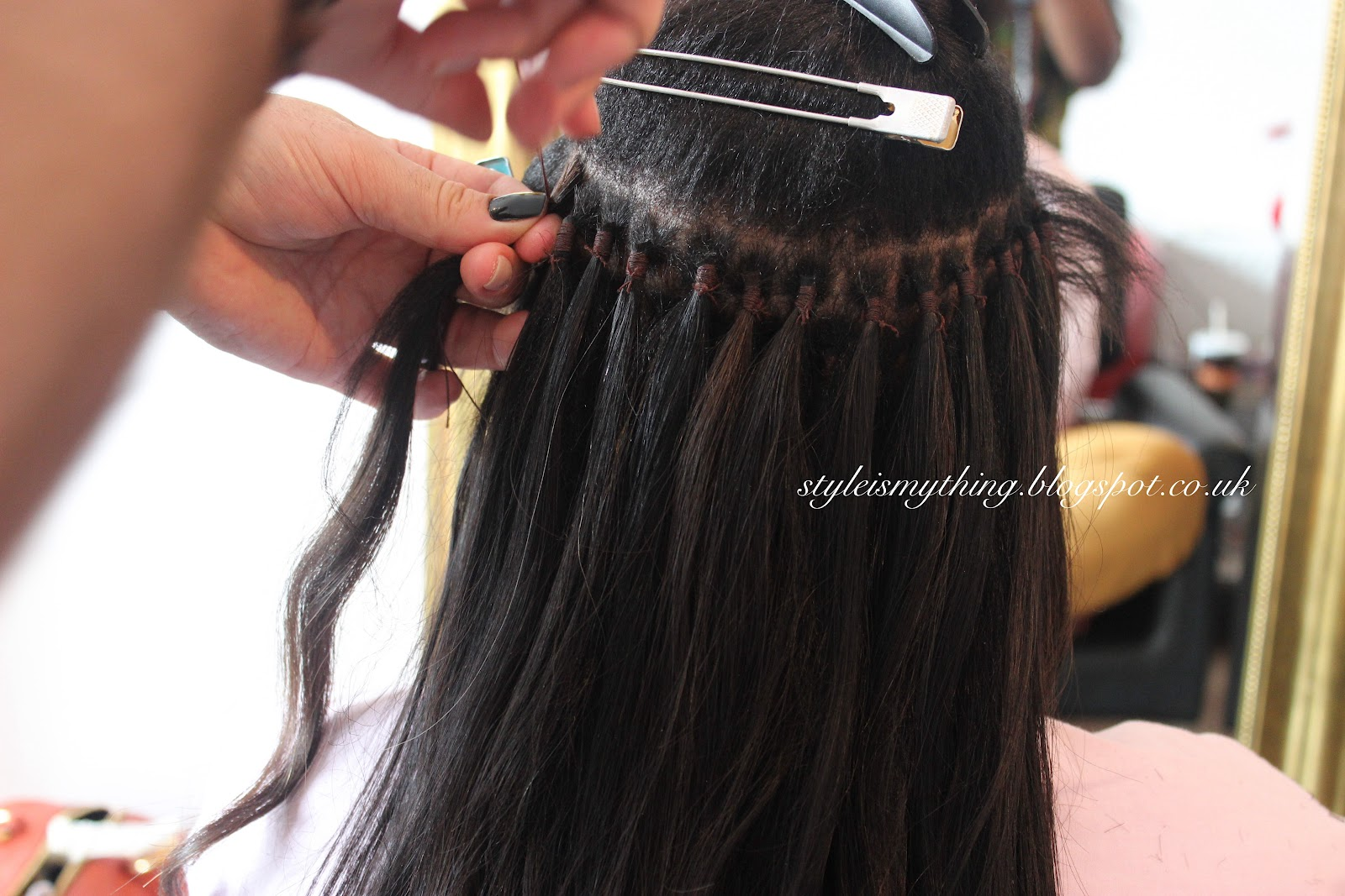 Brazilian knots hair extensions style is my thing my real hair is relaxed so if you are thinking of getting this technique done there is no other way but relax your hair that way the knots last for longer pmusecretfo Image collections