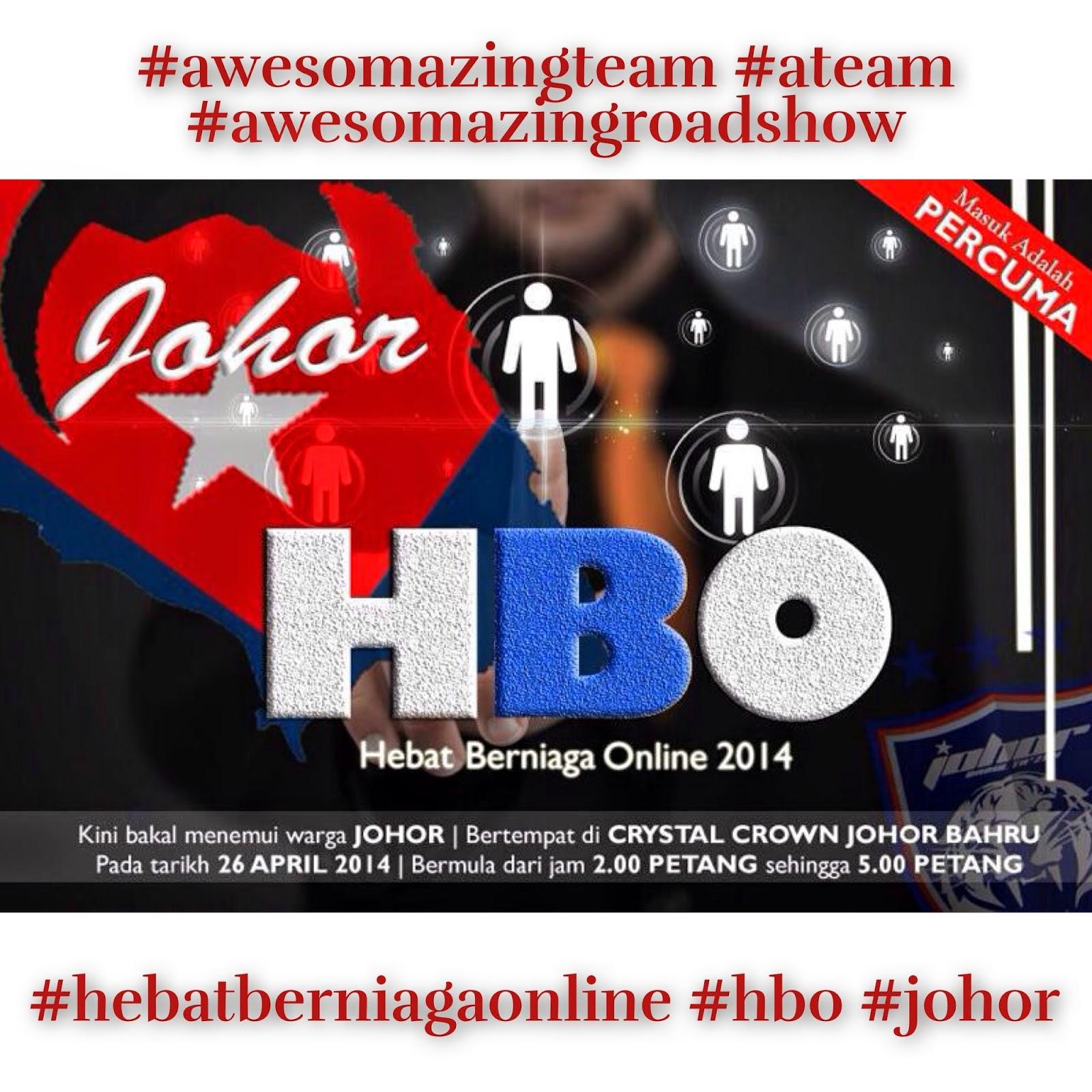 Hebat Berniaga Online di Johor Bahru pada 26 April 2014