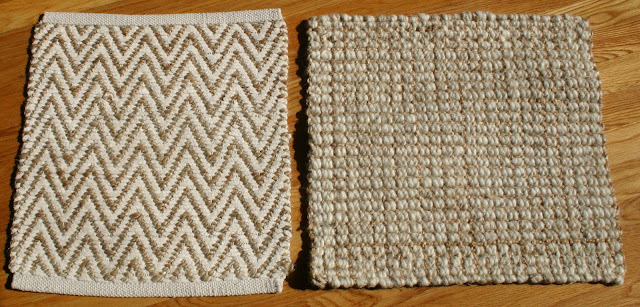 JUTE Chenille Herringbone RUG In Natural/Ivory Via West Elm