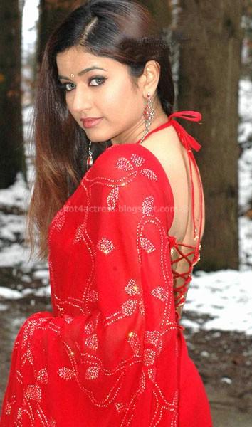 Hot poonam bajwa in saree