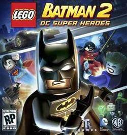Lego Batman 2 DC Super heroes cover