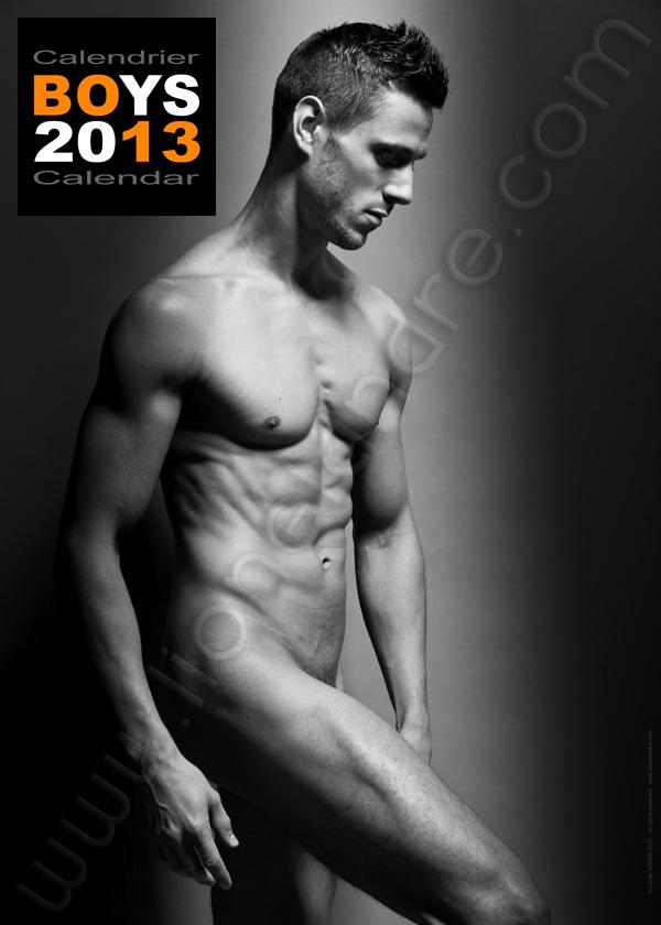 Matthieu Riffi • 'BOYS 2013' Calendar by Lionel André