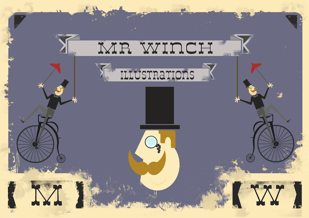 Mr Winch Illustrations
