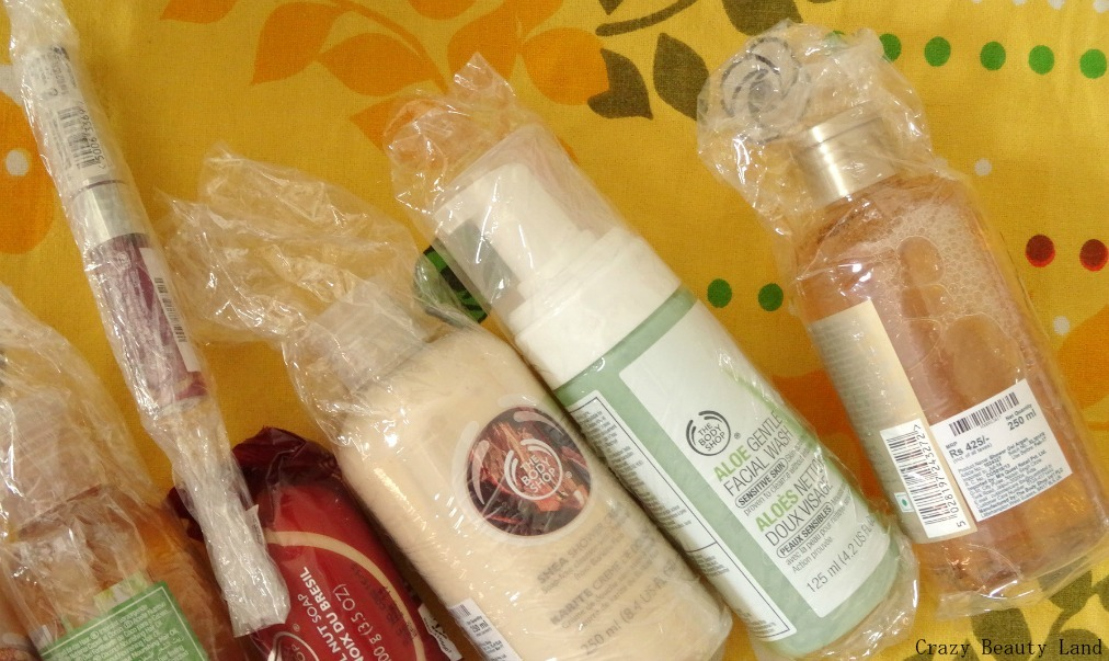 The Body Shop India Online Womens Day Offers Haul and Shopping Experience