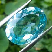 Batu Permata Blue Topaz - SP806