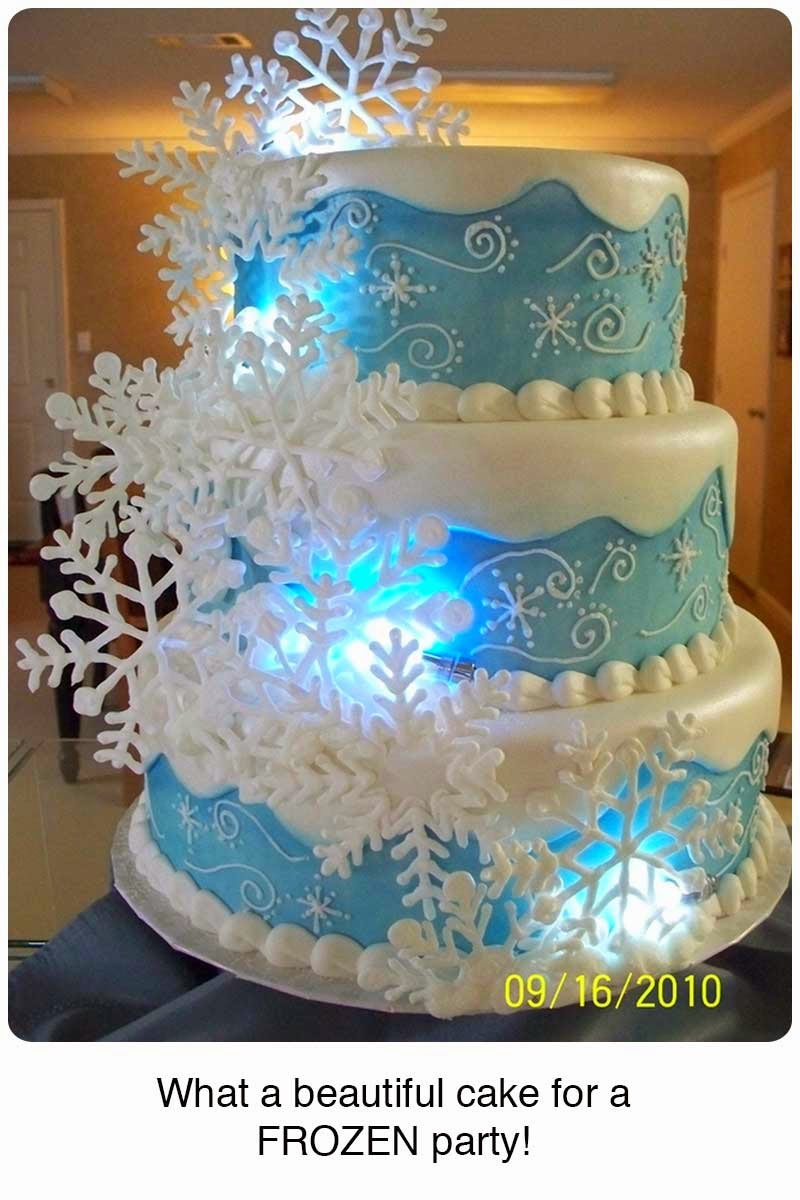 Elsa Cake Decoration Ideas : It s Written on the Wall: 39+ Party Ideas for Disney s ...