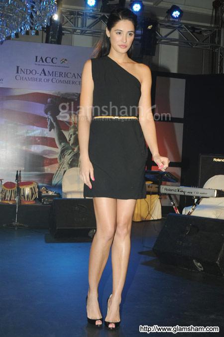 Nargis Fakhri Ponytail Hairstyle
