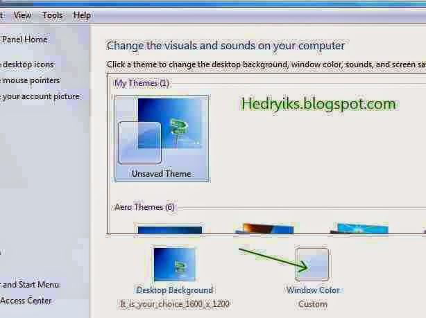 Cara Mengganti Jenis Font pada Windows 7