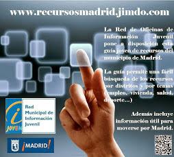 Web de recursos elaborada por las Oficinas de Información Juvenil