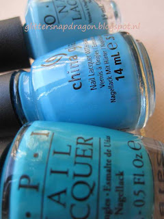 OPI Fly Can't Find My Czechbook China Glaze Sunday Funday