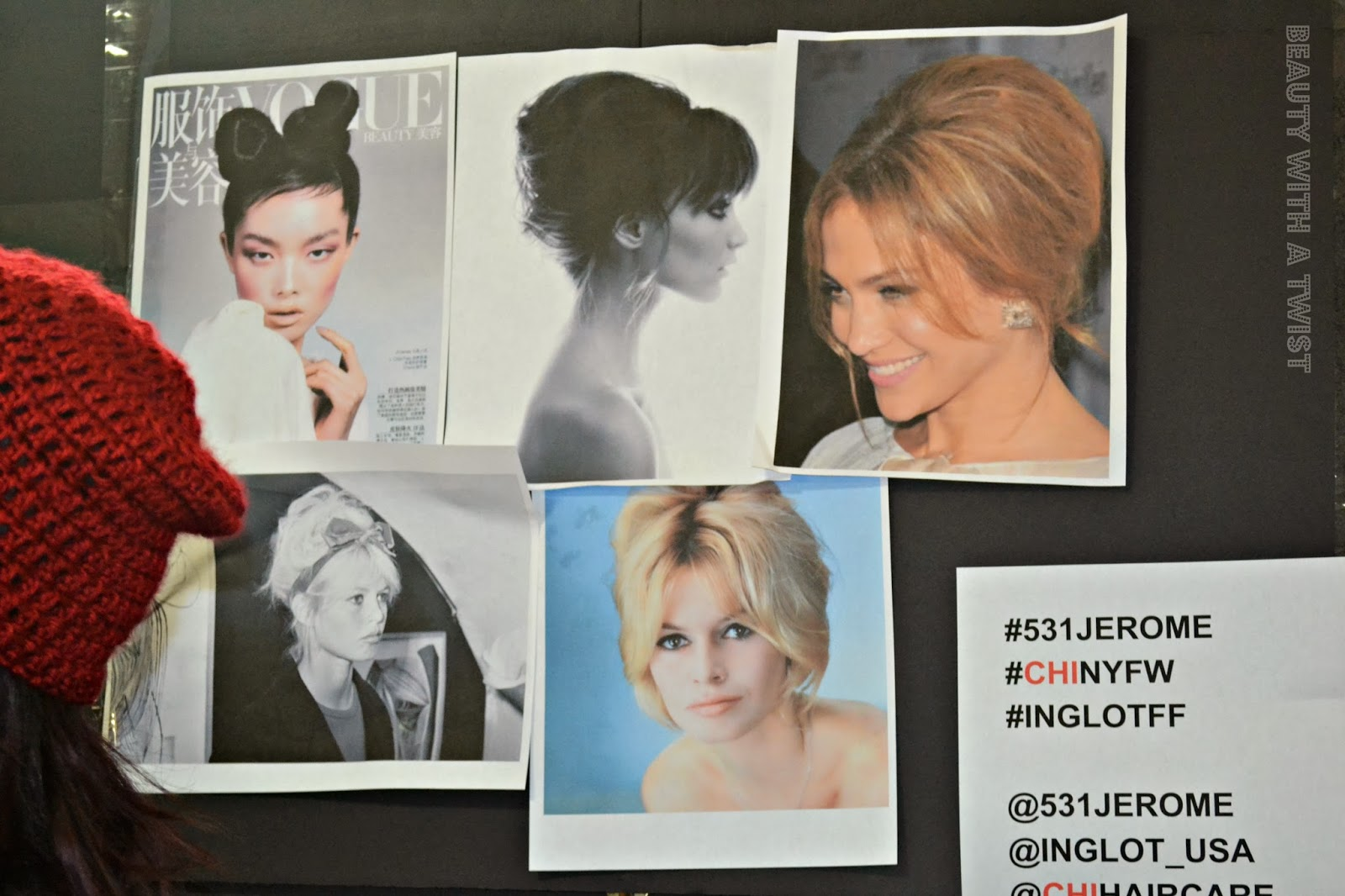 backstage, 5:31 Jérôme, NYFW, Beauty with a Twist, vision board, beauty, makeup
