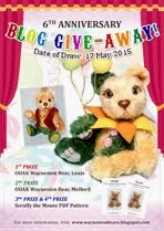 Wayneston Bears 6th Anniversary Blog Give-away