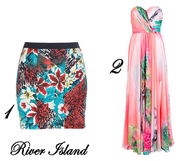 Estampado Tropical River Island