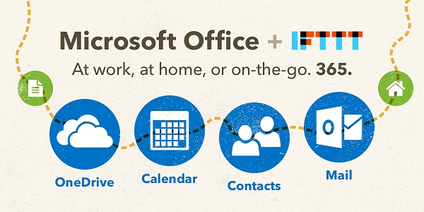 Microsoft launches Office 365 Channels on IFTTT