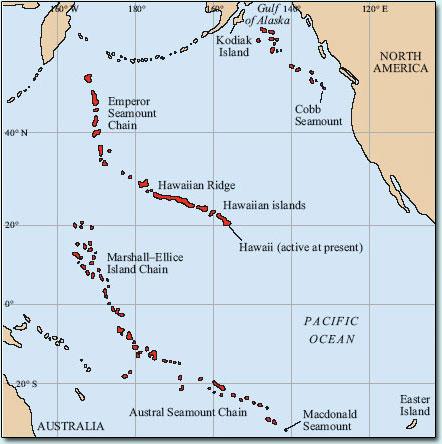 Hawaiian hotspot lessons tes teach hawaii volcanoes the hawaiian islands and how the hawaiian gumiabroncs Choice Image