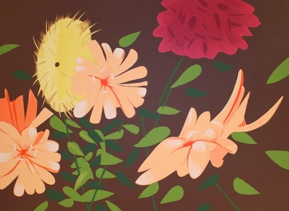 alex katz tate gallery flowers